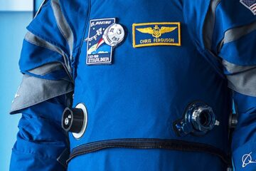 Boeing Blue spacesuit