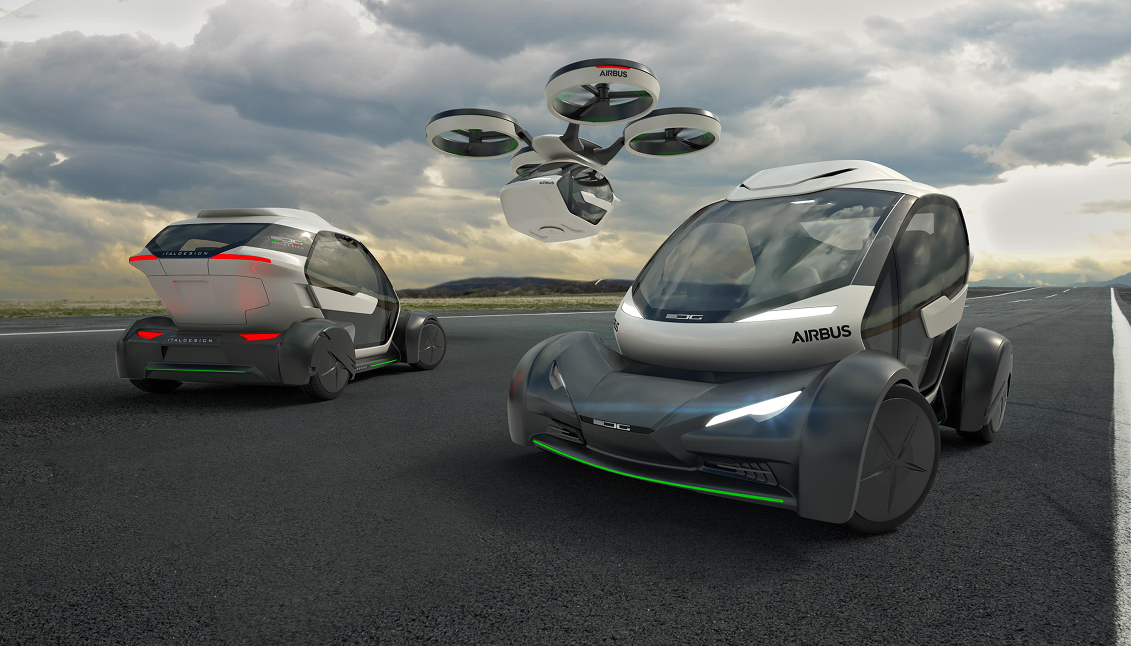 Airbus PopUp flying car