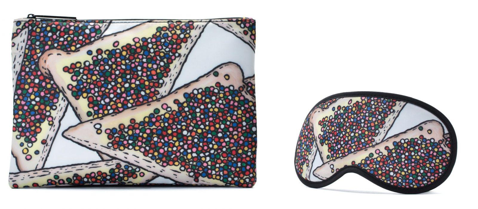 Qantas art Billie Justice Thomson - Fairy Bread