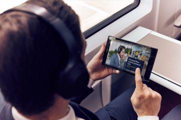 Sony Eurostar Sound Menu