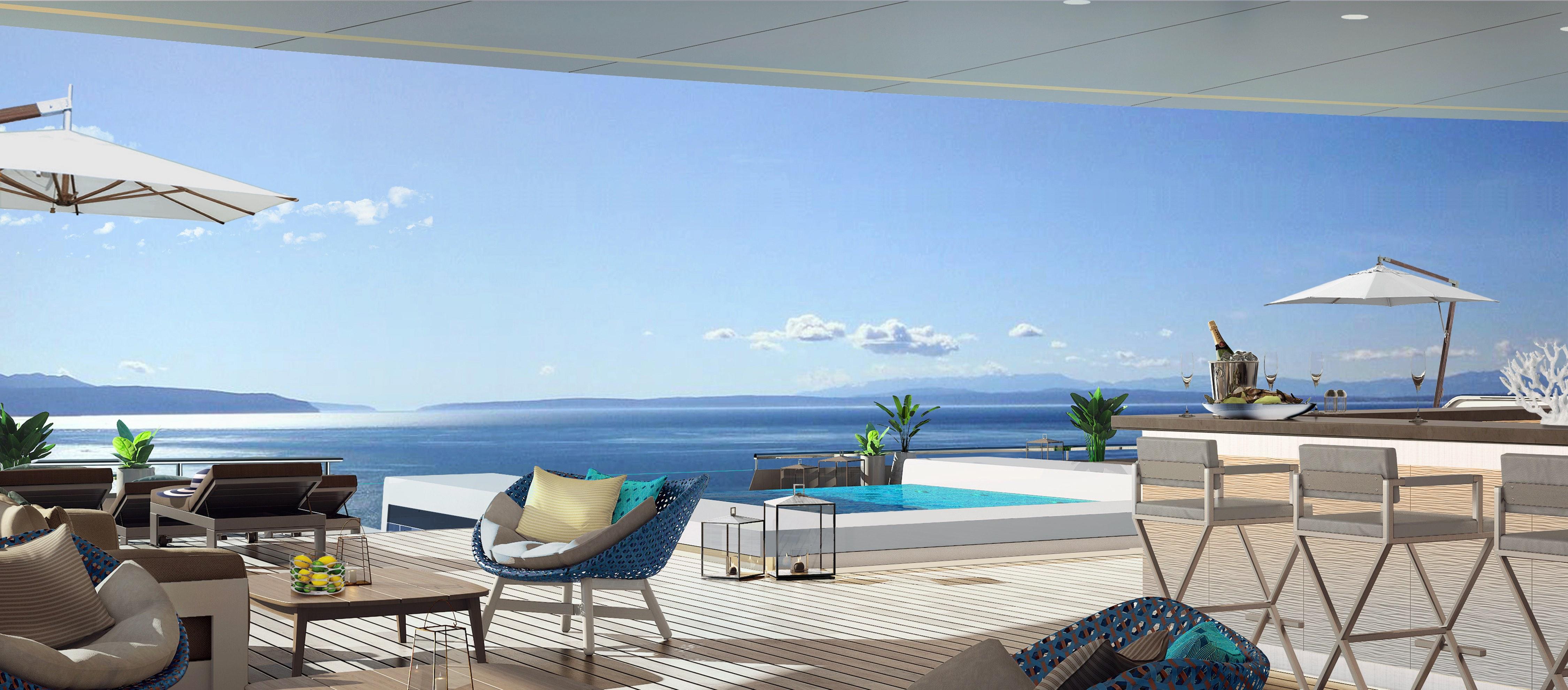 Marina Bar, Ritz-Carlton yacht