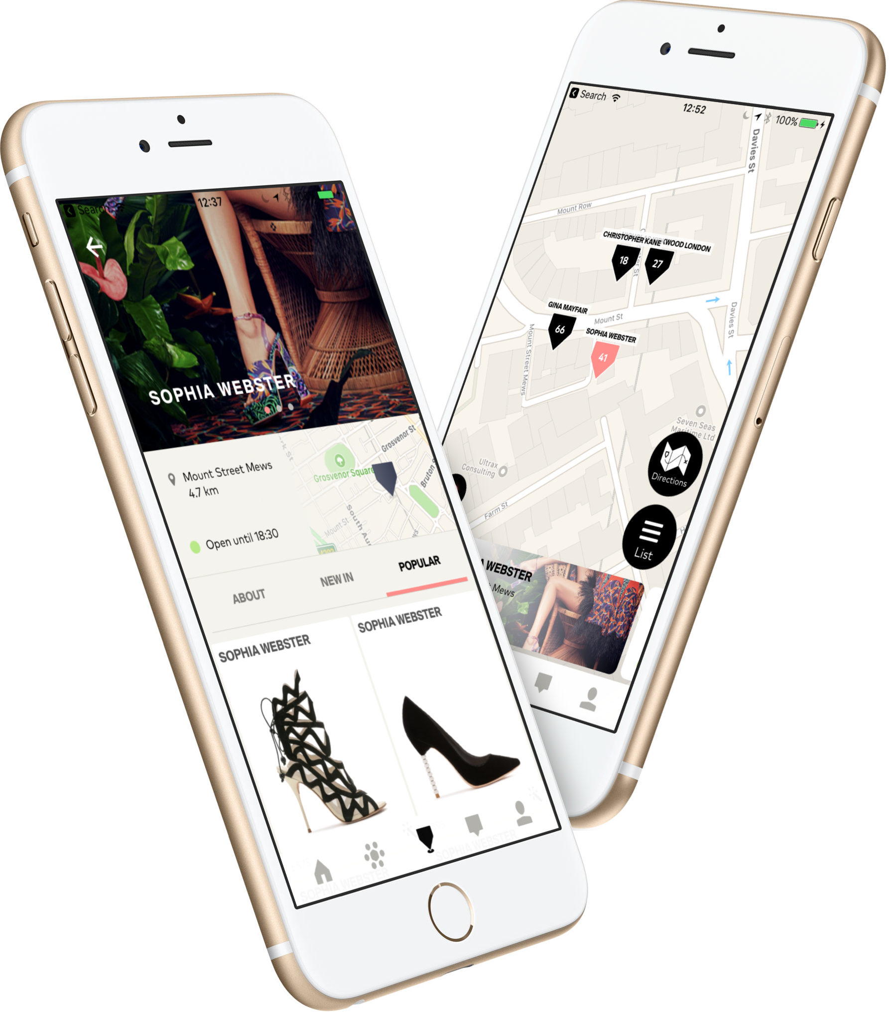 Knomi shopping app