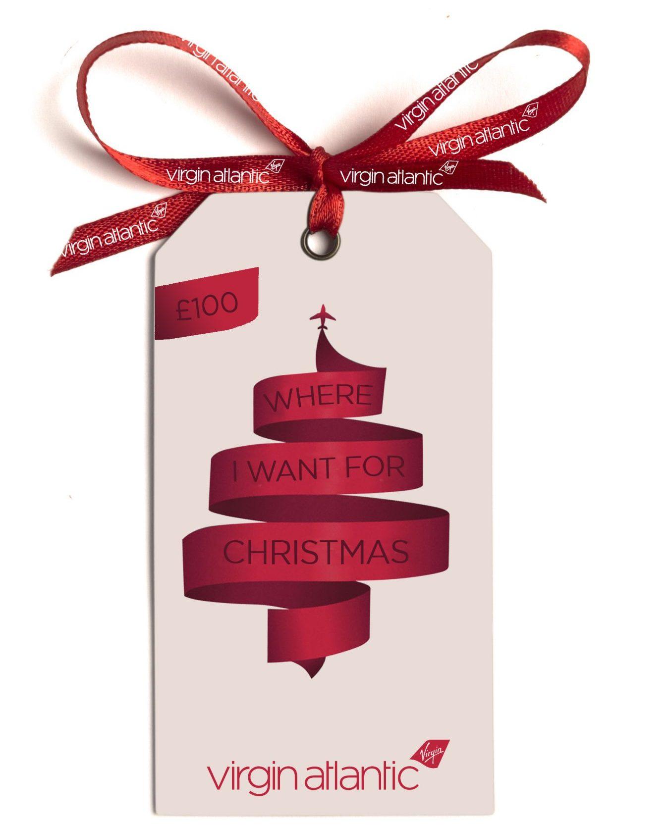 Virgin Atlantic gift card