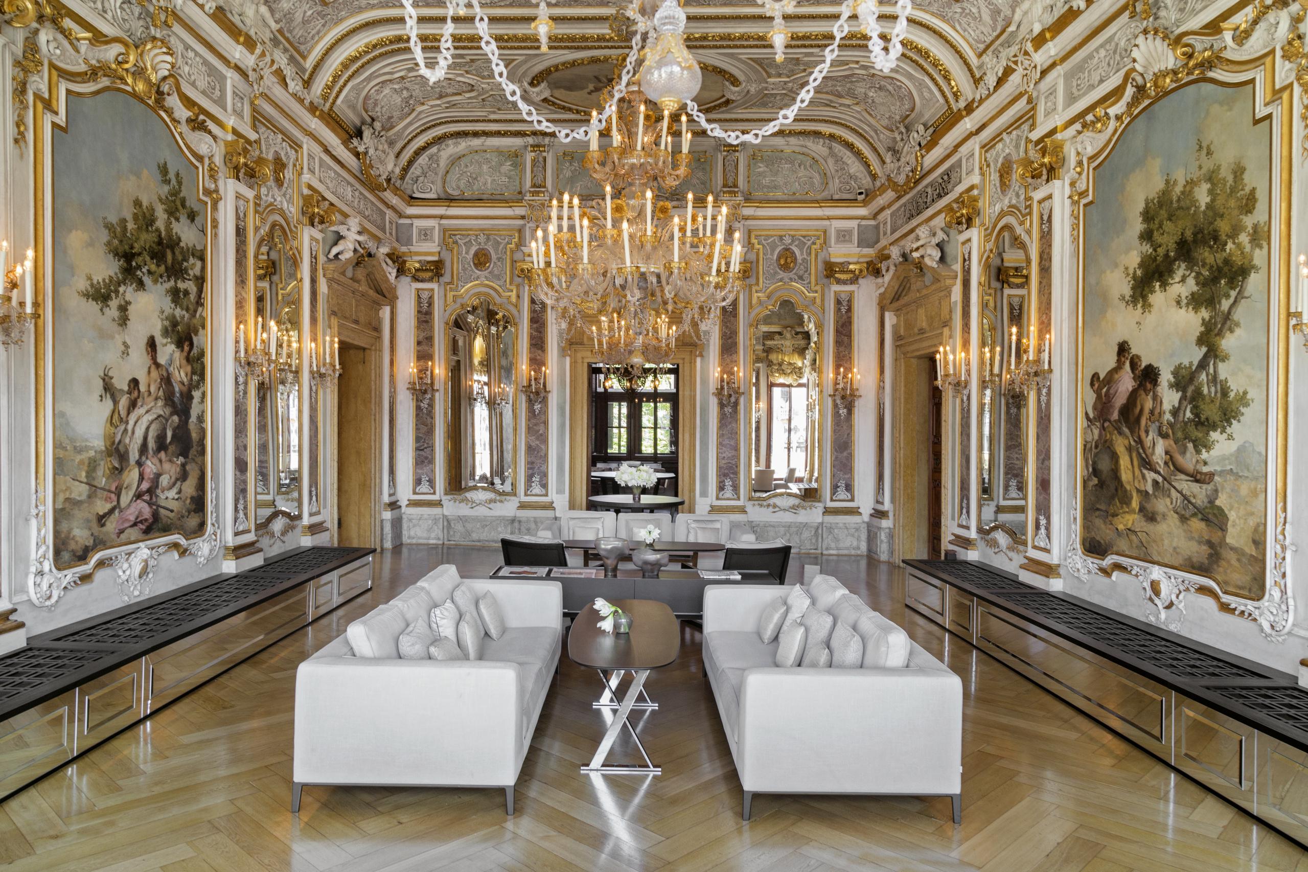Aman Venice ballroom