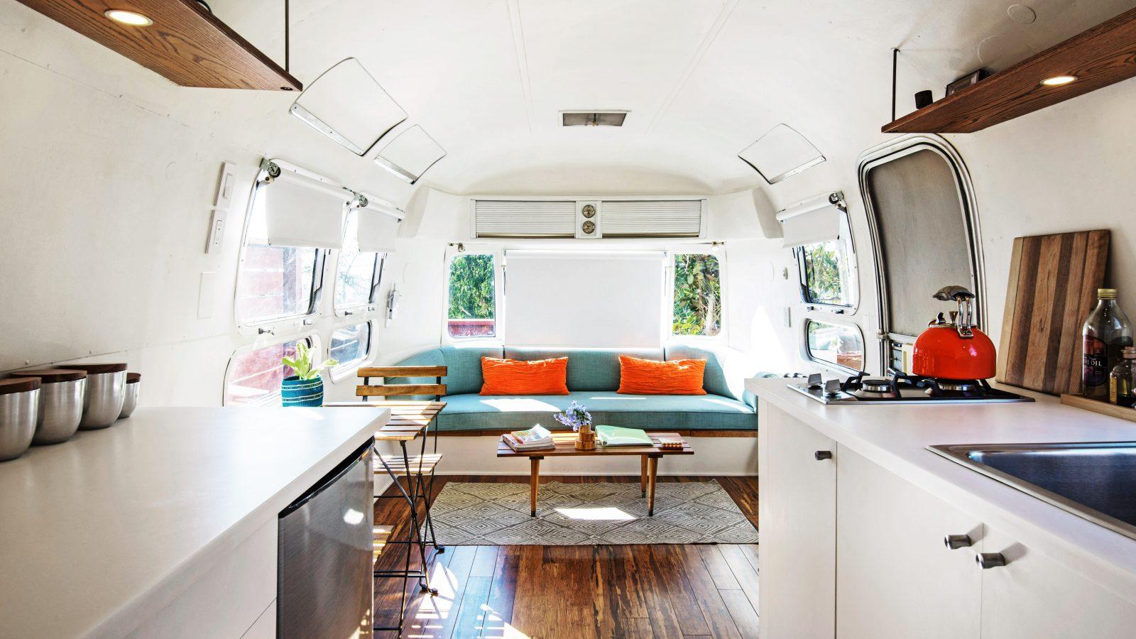 Airbnb LA camper van