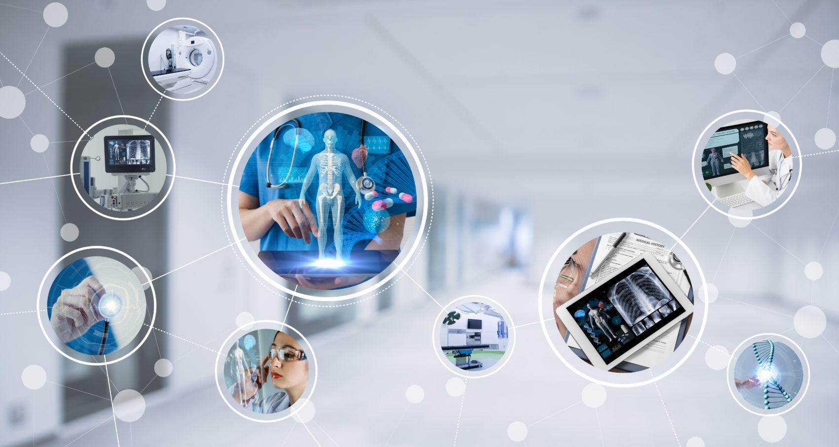 Futuristic clinic