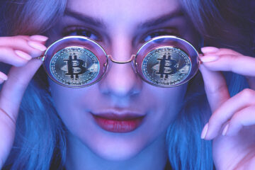 Bitcoin glasses
