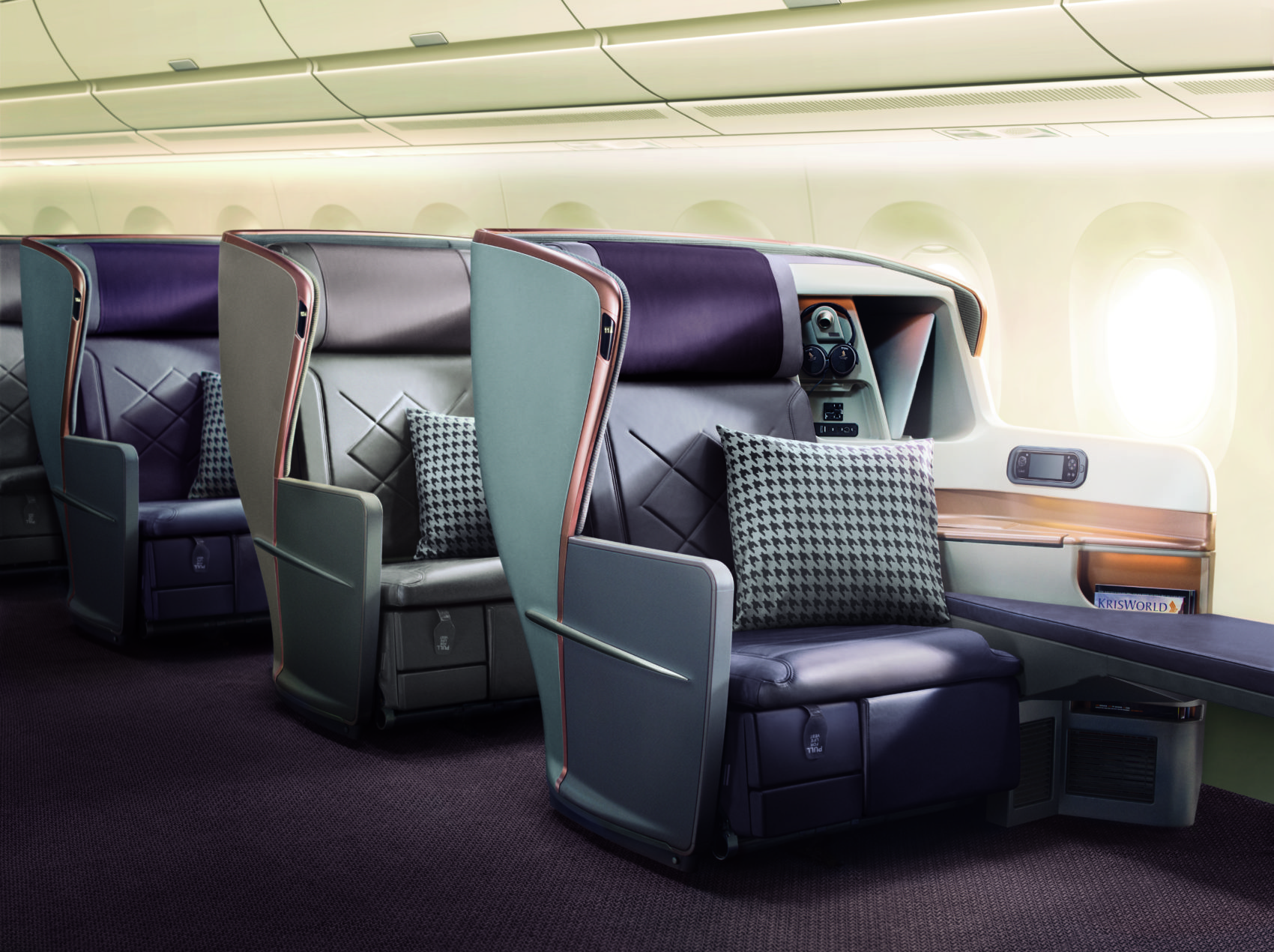 Sinagpore Airlines A350-900 business class