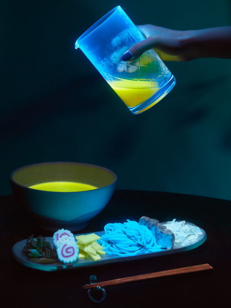 Bioluminescent food from Nakamura.ke