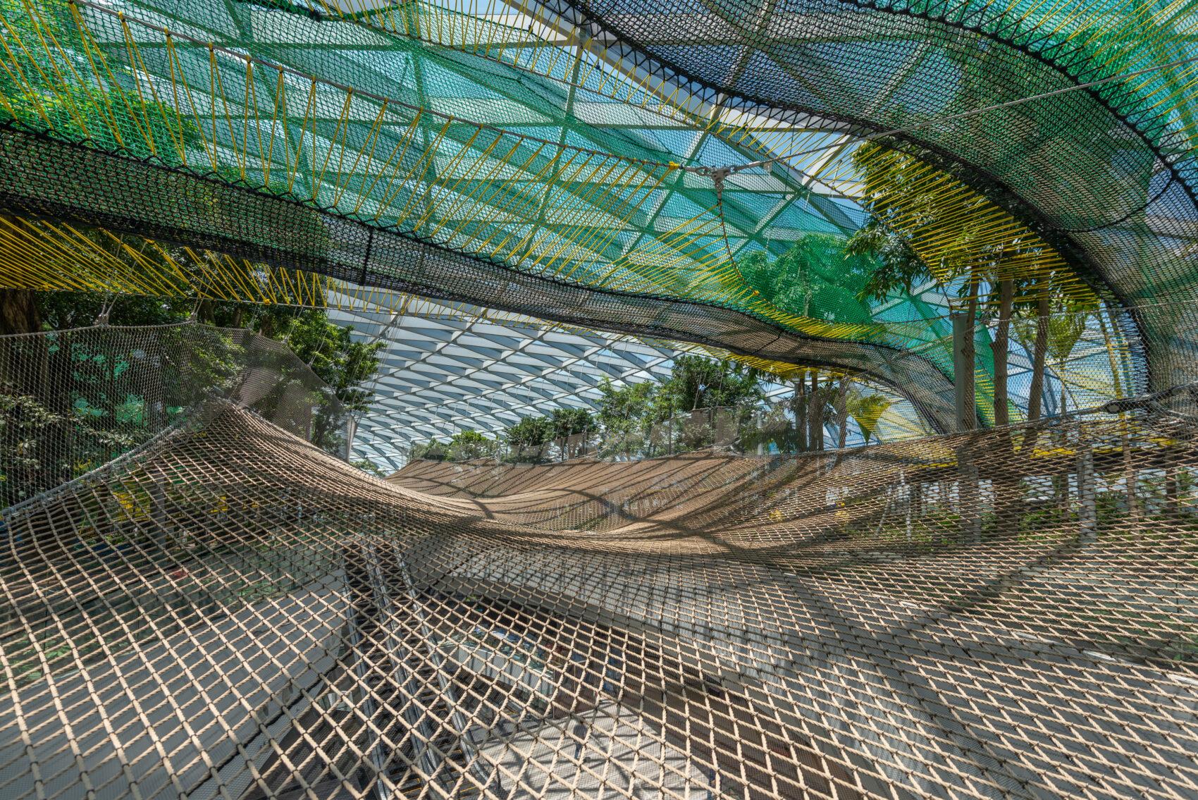 Manulife Sky Nets at Canopy Park, Singapore Changi Jewel Terminal