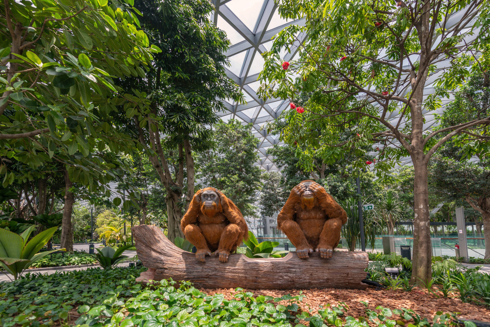 Topiary Walk at Canopy Park, Singapore Changi Jewel Terminal