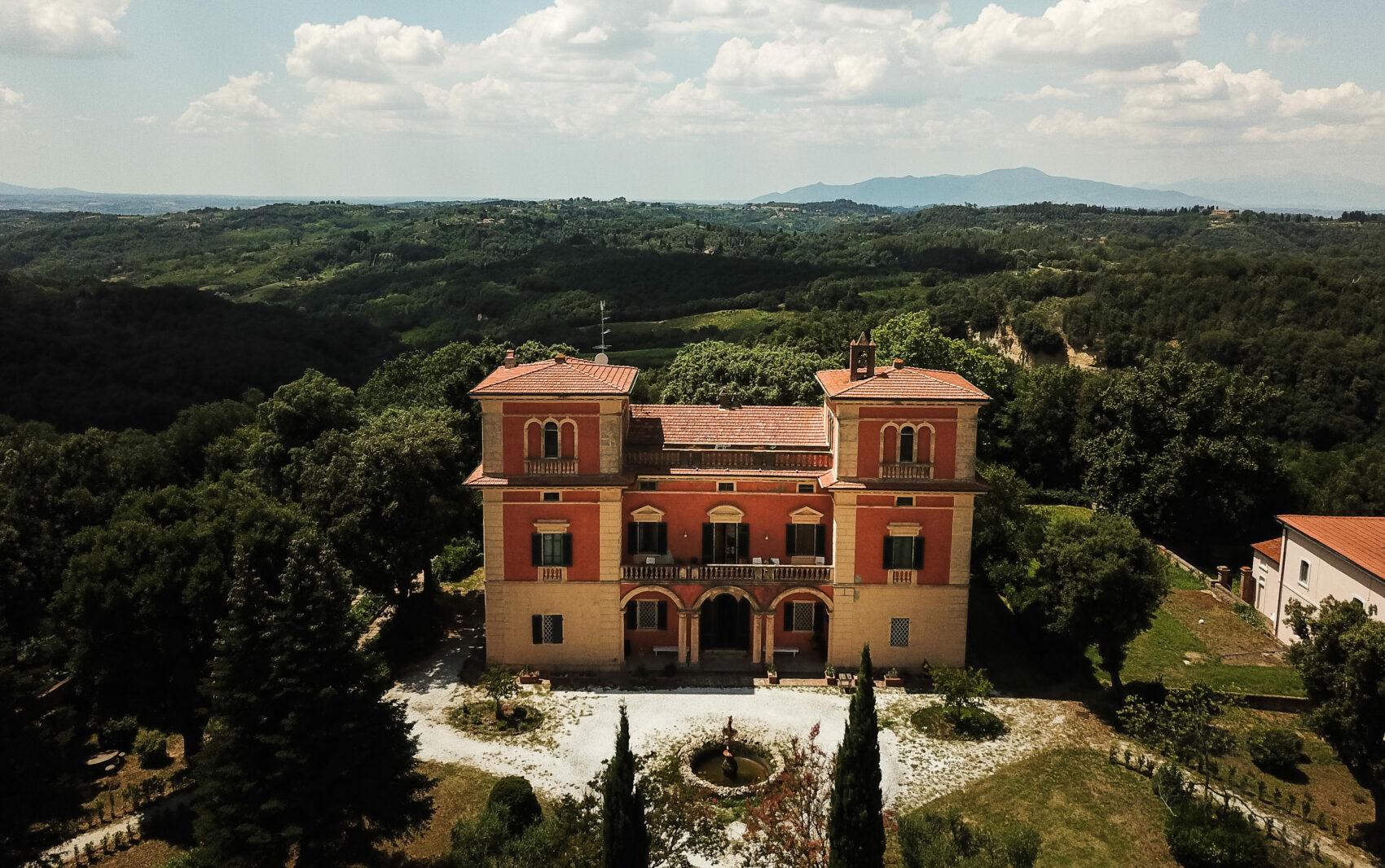 Villa Lena, Tuscany