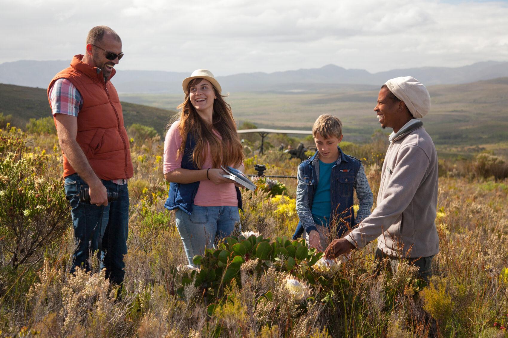 Grootbos family flower safari