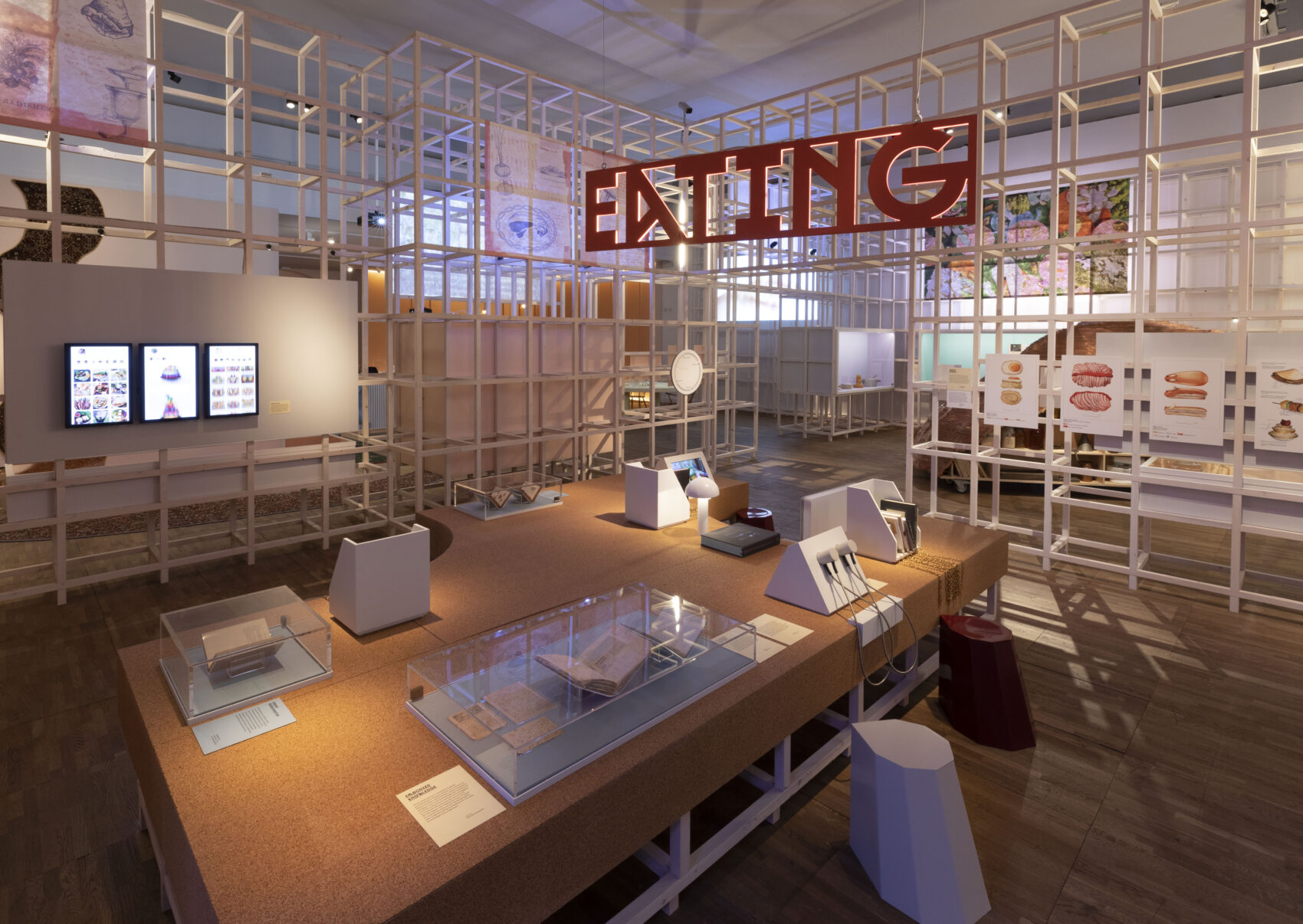 V&A future of food exhibition