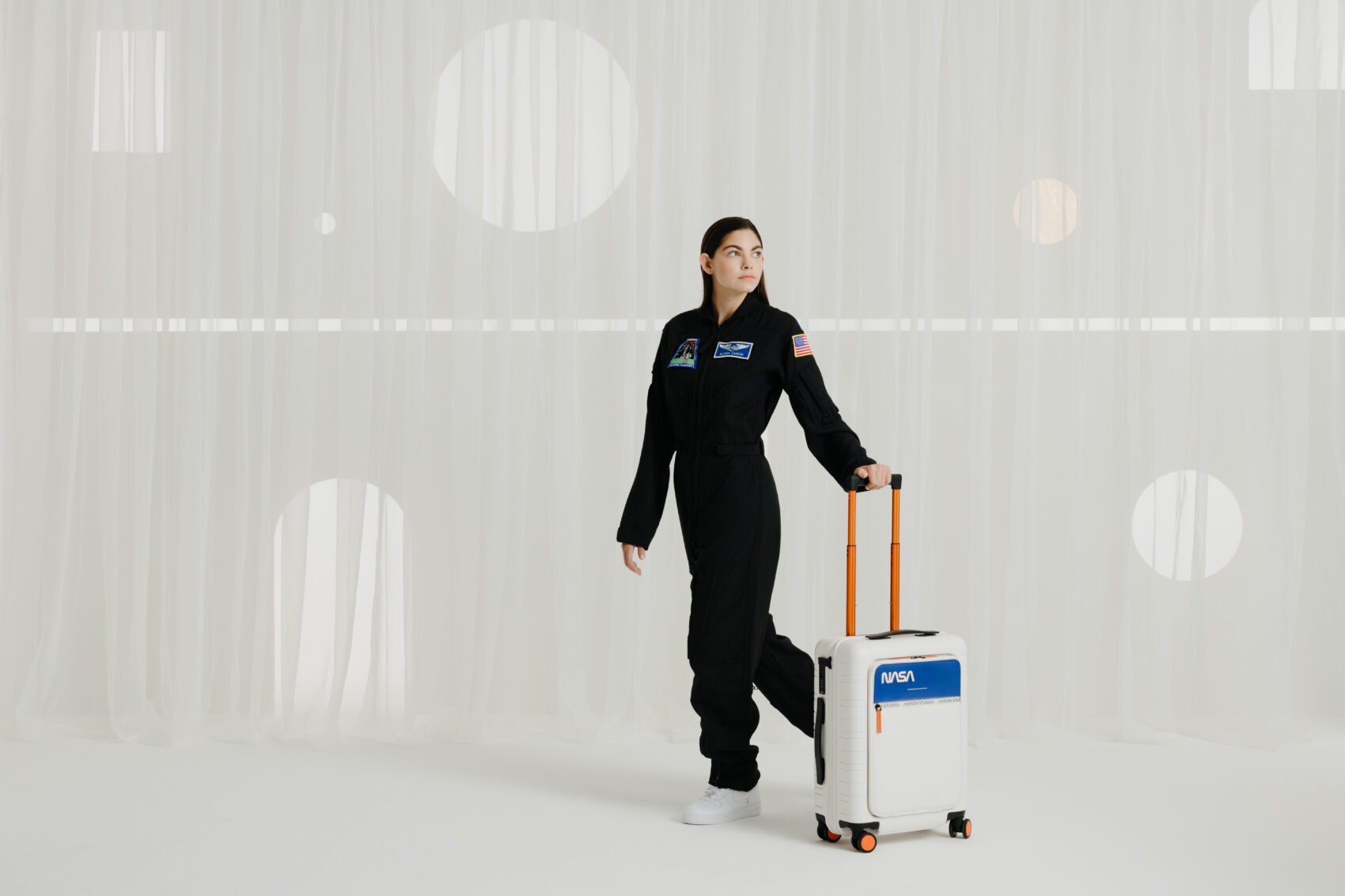 Horizn Studios NASA space suitcase