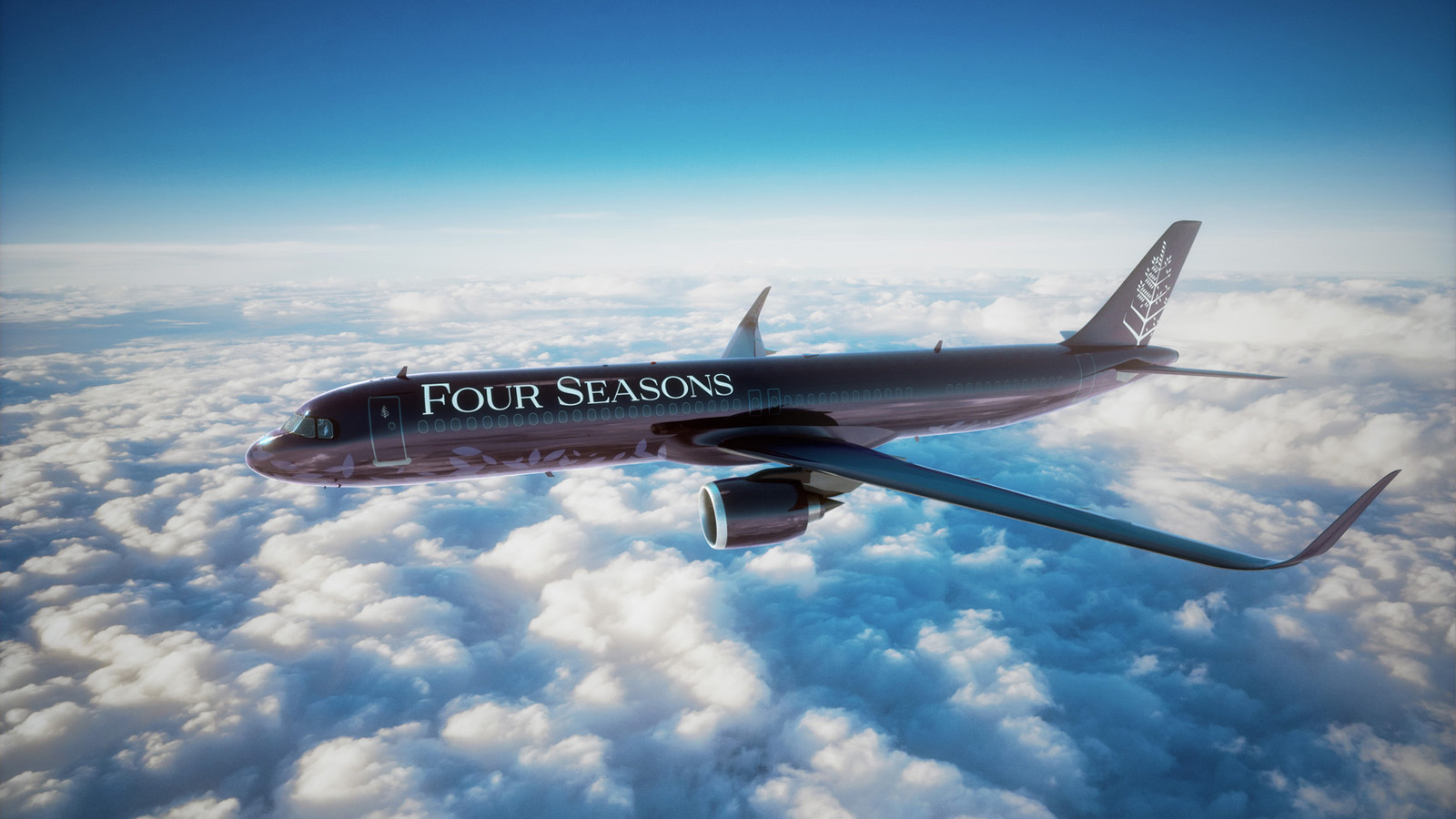 Four Seasons private jet A321neo