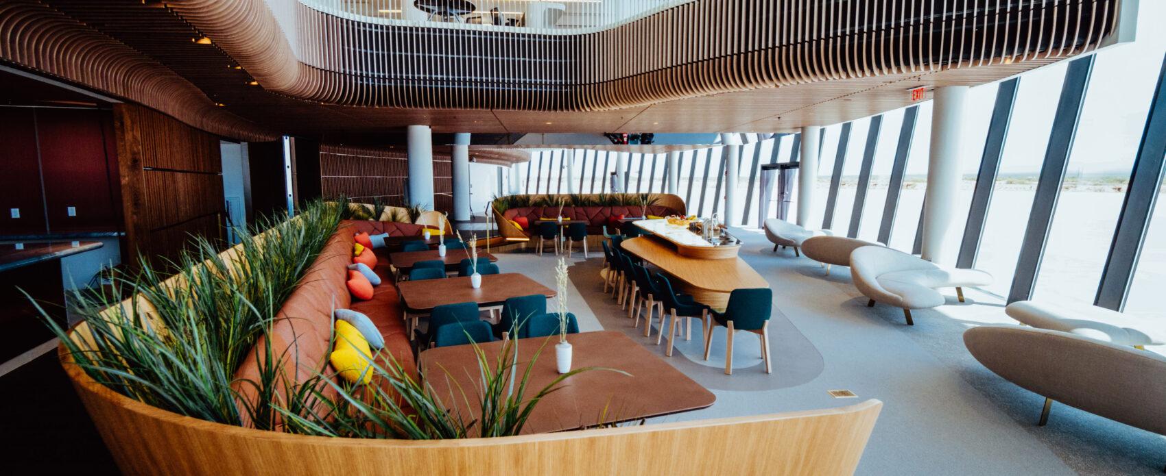 Gaia Lounge Dinning Area