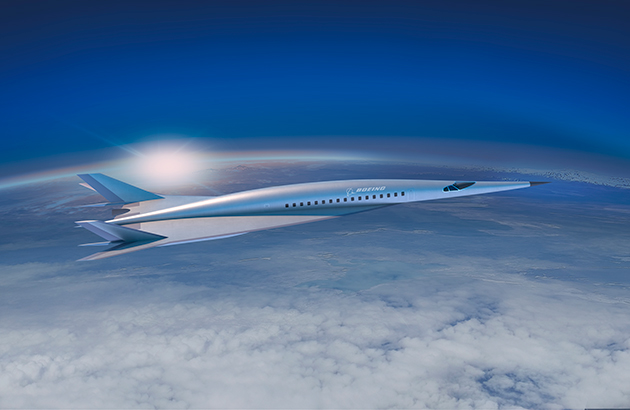 Boeing hypersonic concept plane