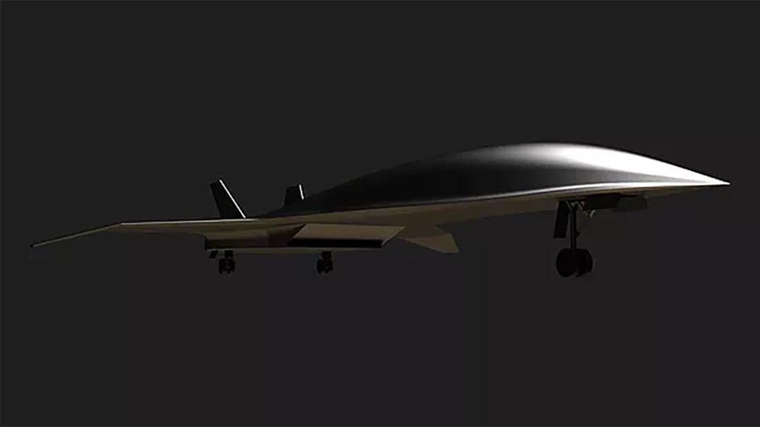 Hermeus hypersonic jet