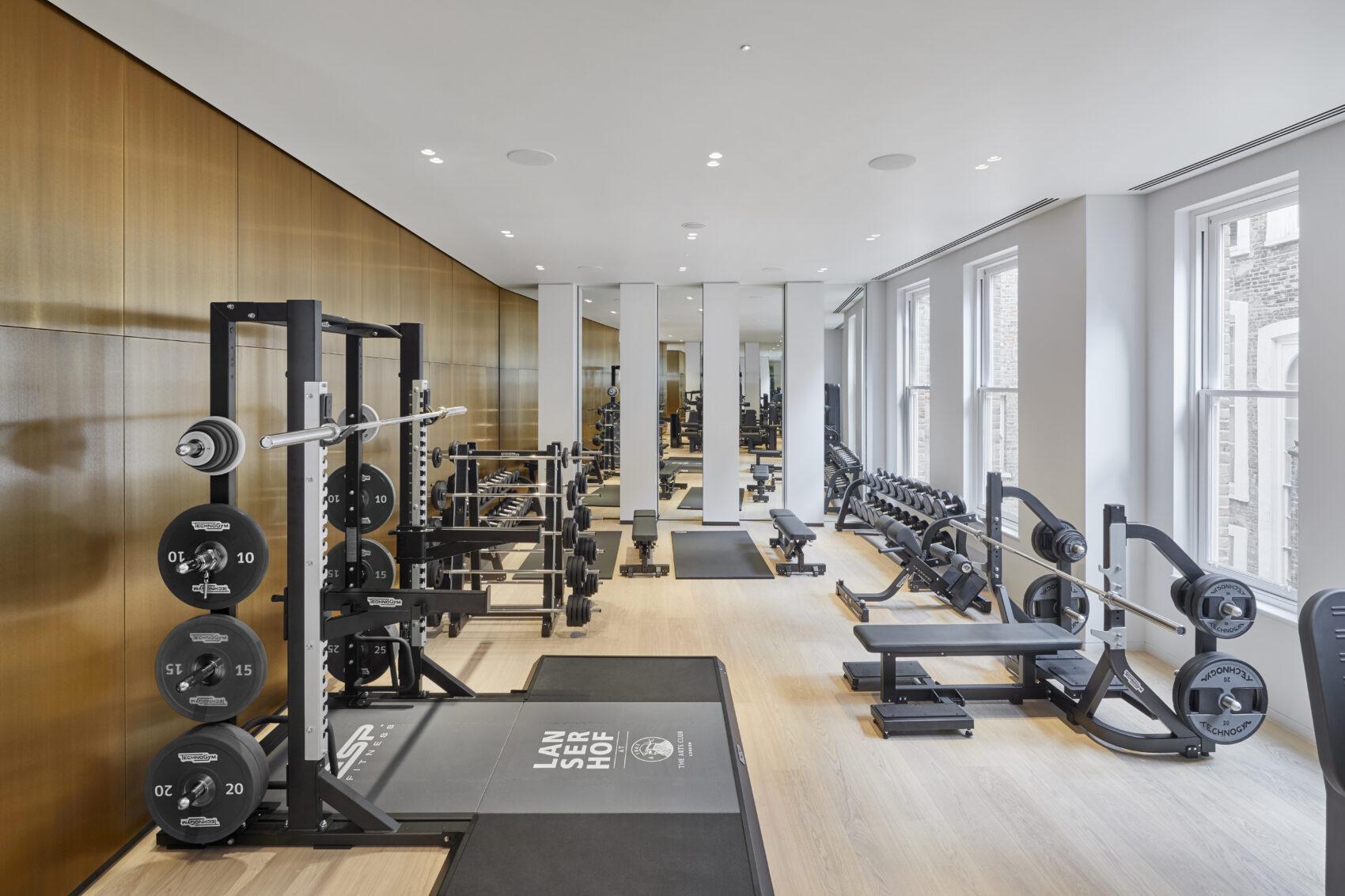 Lanserhof medical gym The Arts Club