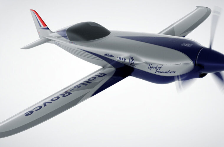 Rolls-Royce electric plane ACCEL