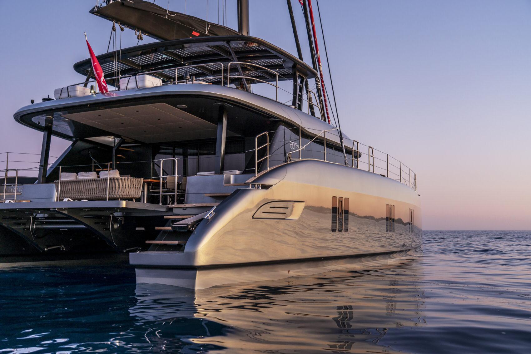 E eco-catamaran Sunreef Yachts