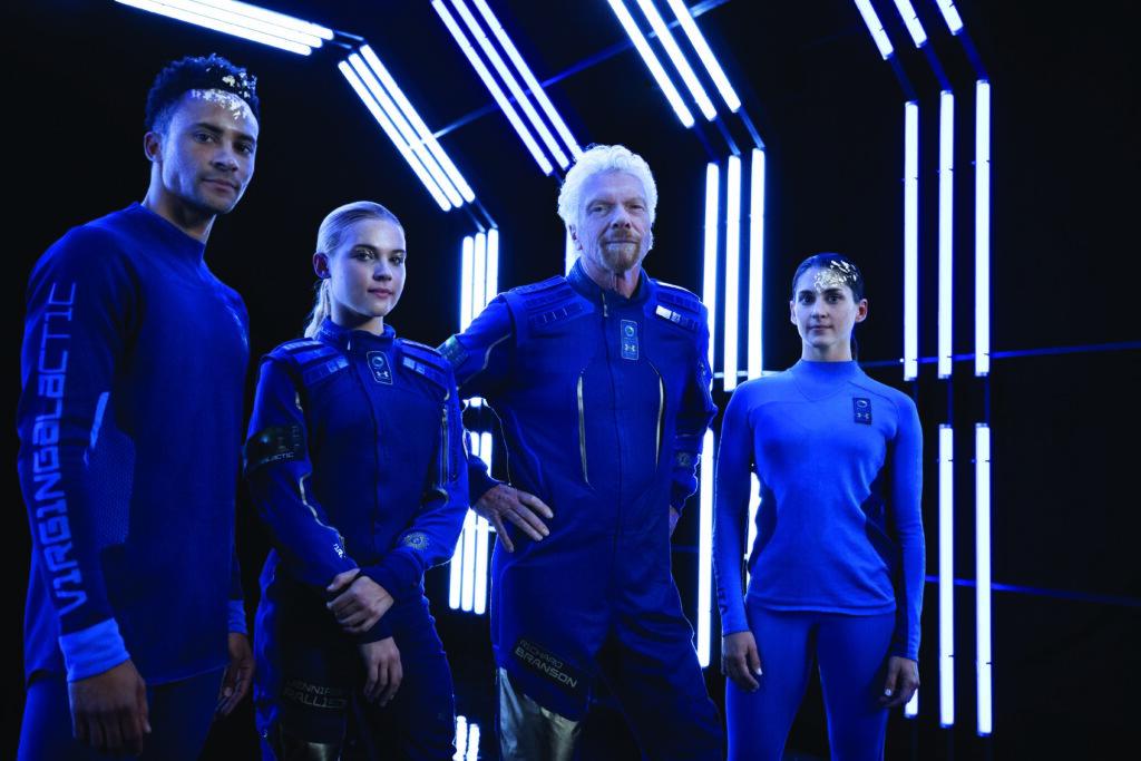 Virgin Galactic Under Armour uniforms