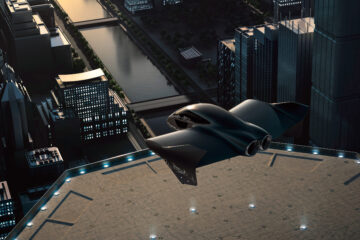 Boeing Porsche flying car