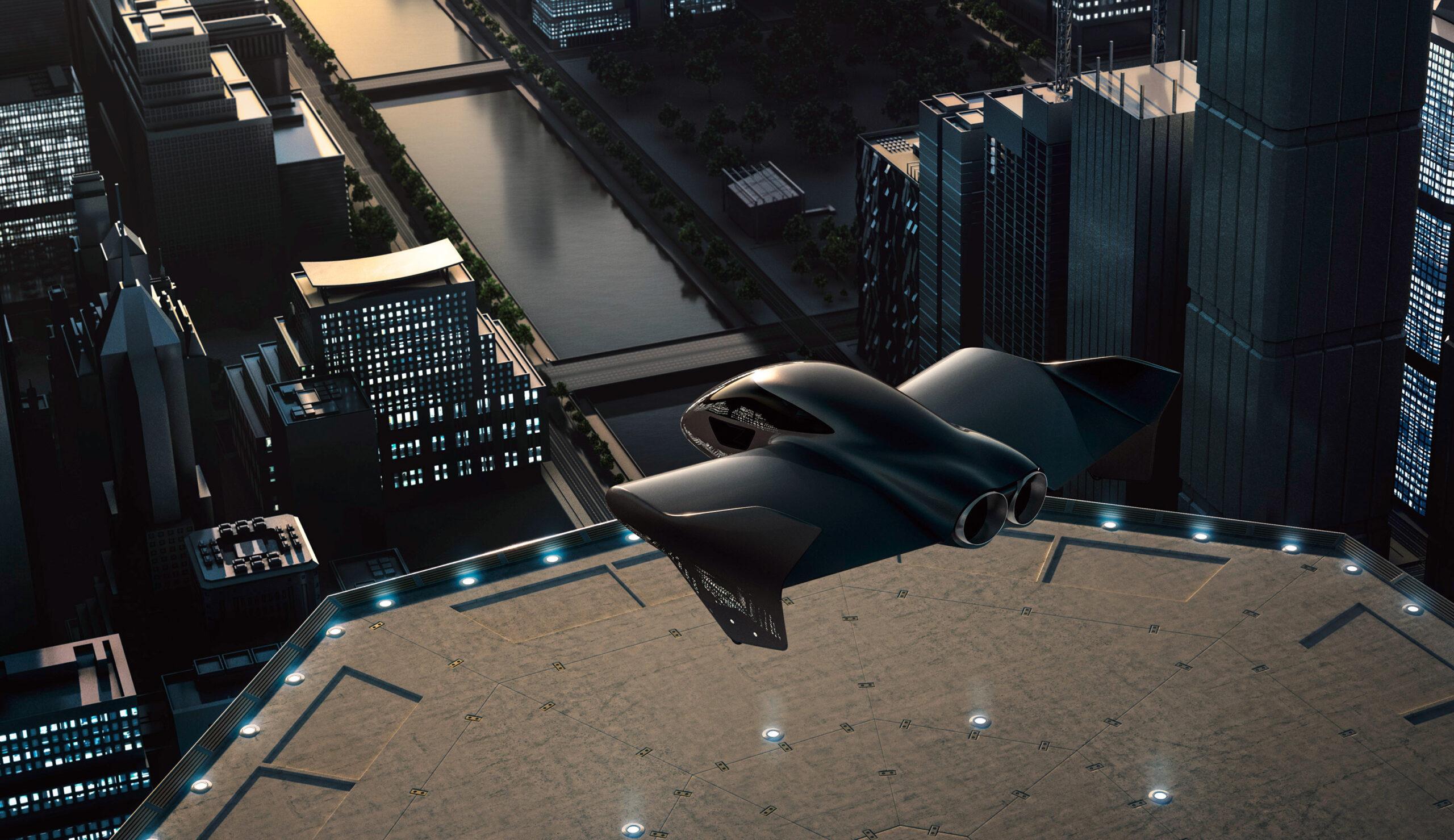 Boeing Porsche flying car
