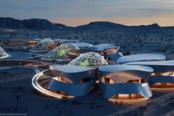 Interstellar Lab, Mojave desert village