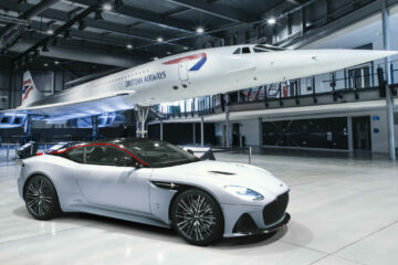 British Airways and Aston Martin DBS Superleggera Concorde Edition car