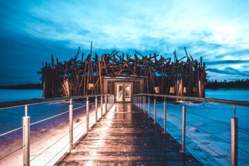 Arctic Bath hotel, Sweden