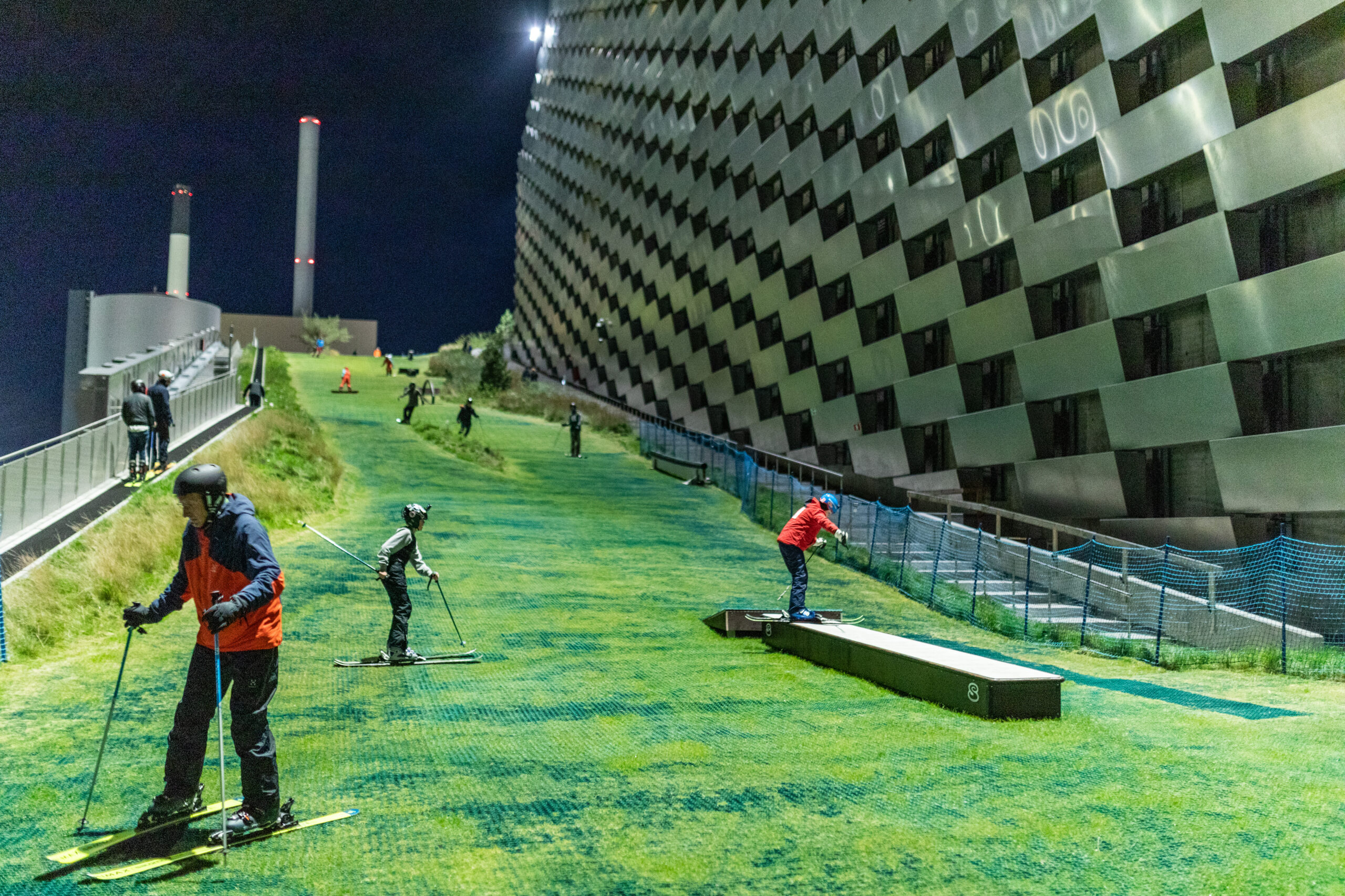 CopenHill power plant ski slope