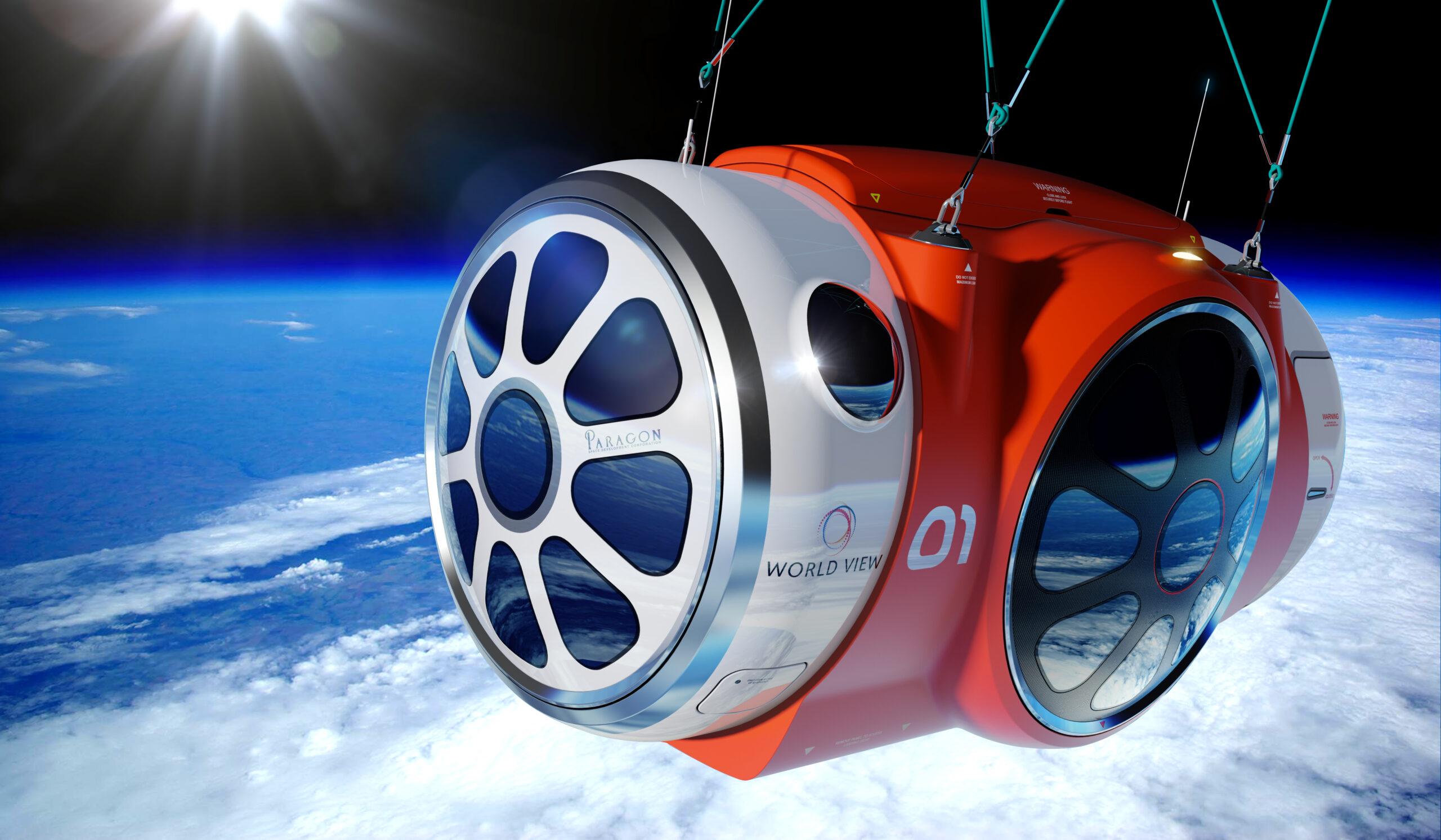 World View capsule, PriestmanGoode