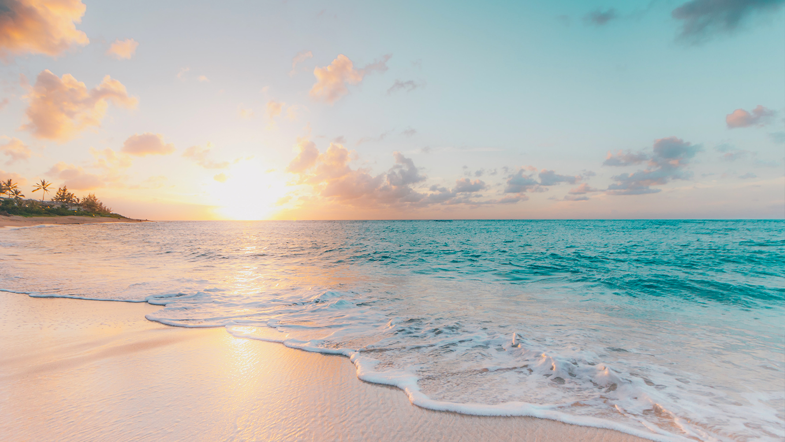 Kuoni Zoom background Caribbean beach