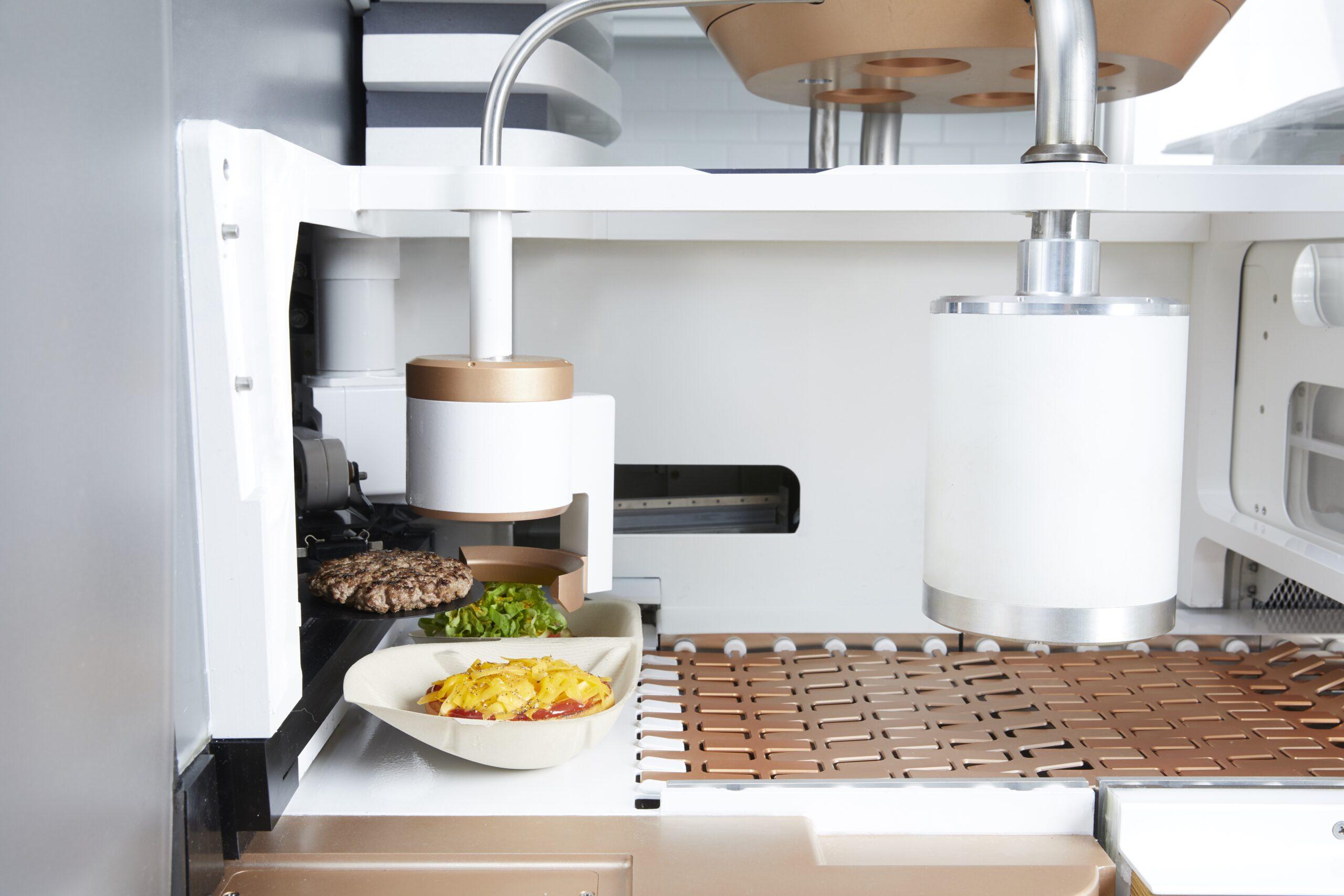 Creator robot chef