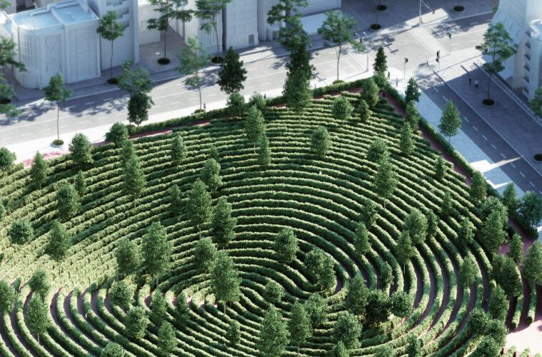Parc de la Distance by Precht