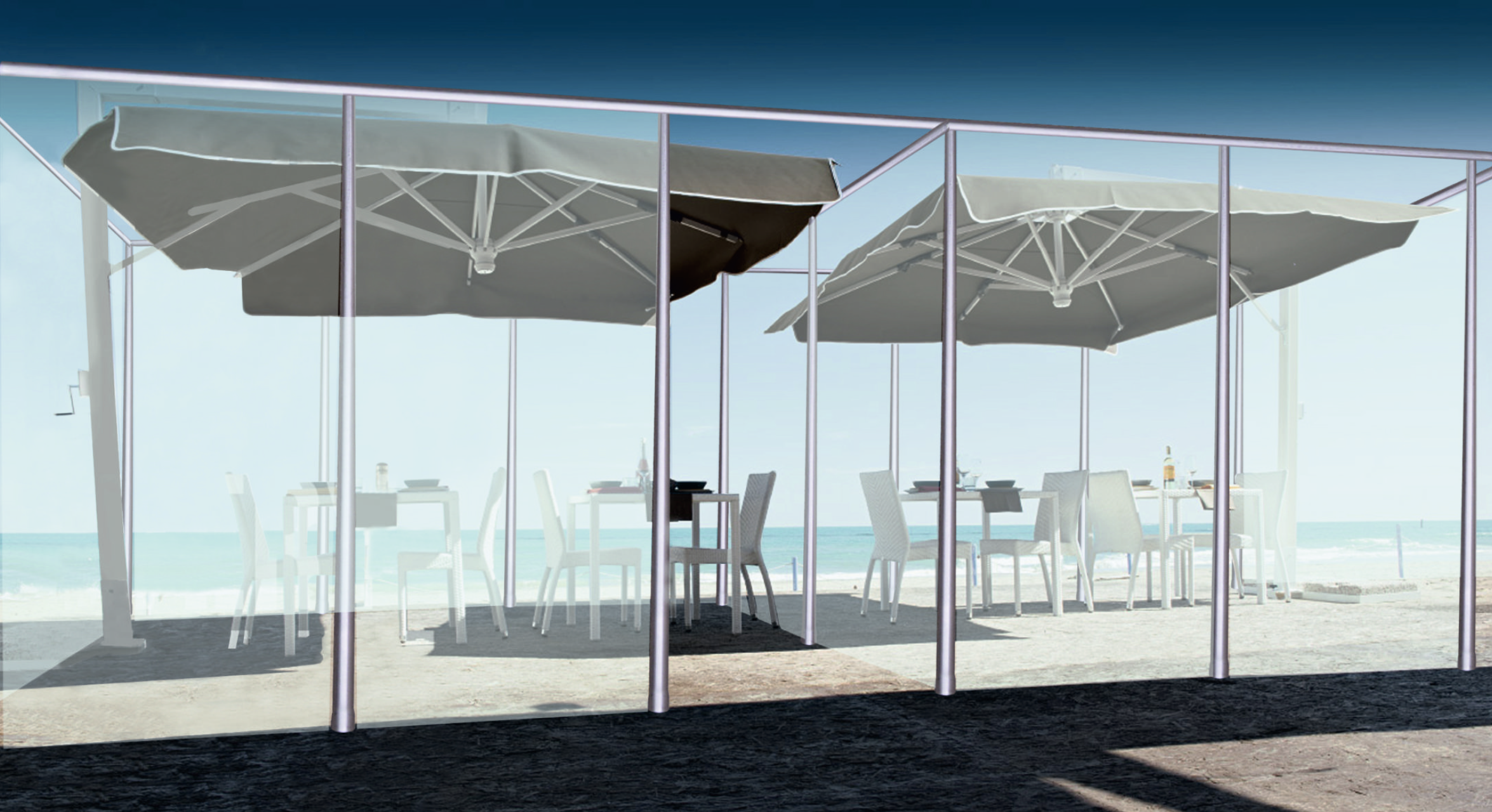 NUOVA NEON GROUP beach cubicles