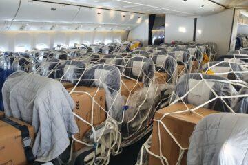 British Airways PPE cargo from China
