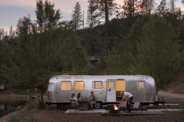 Autocamp Airstream trailer