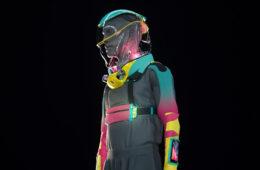 Production Club Micrashell suit