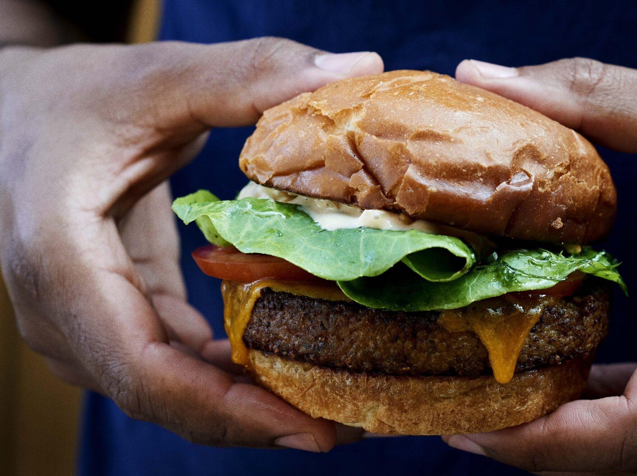 Noma veggie burger