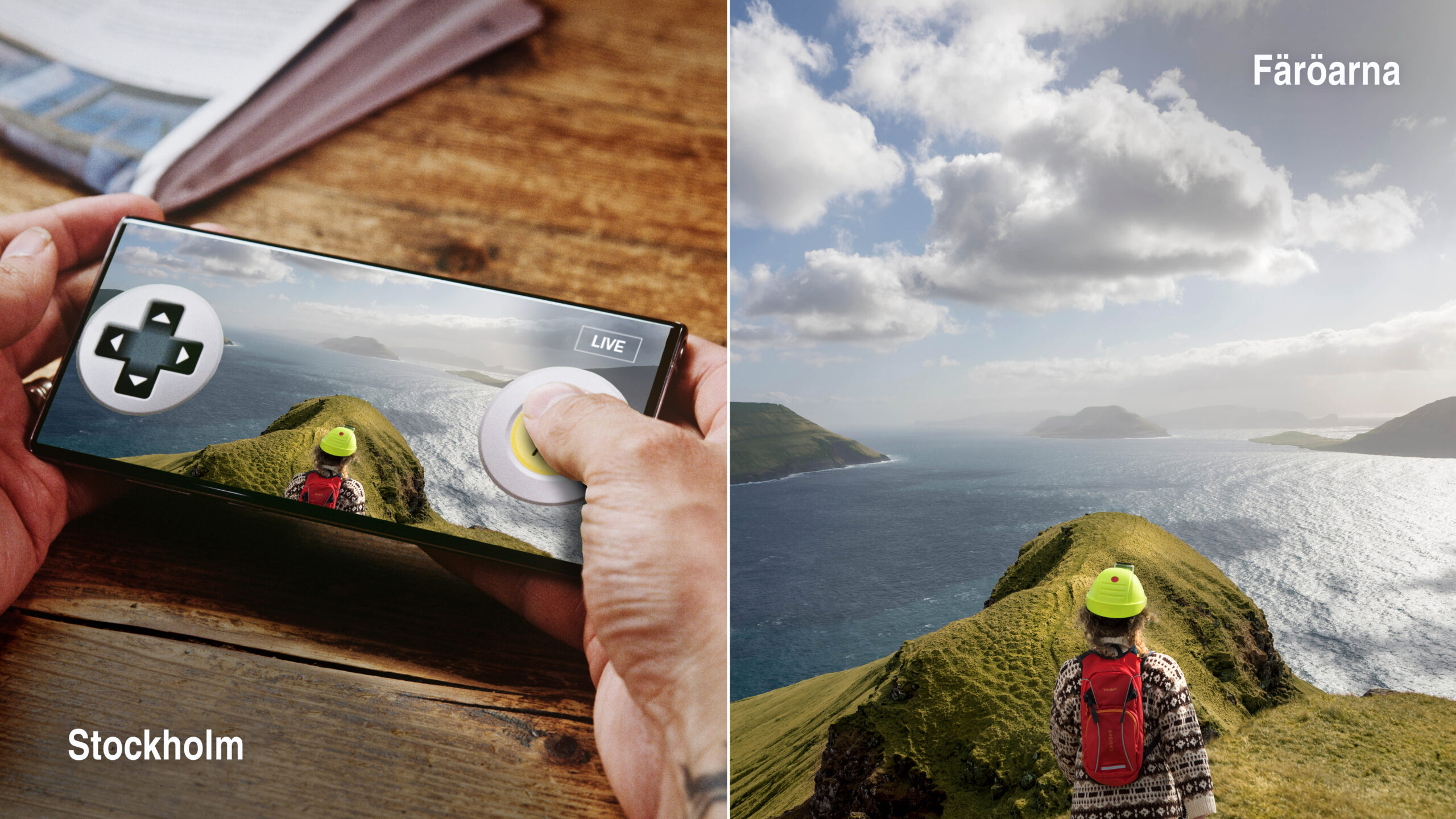 Faore Islands virtual tourism