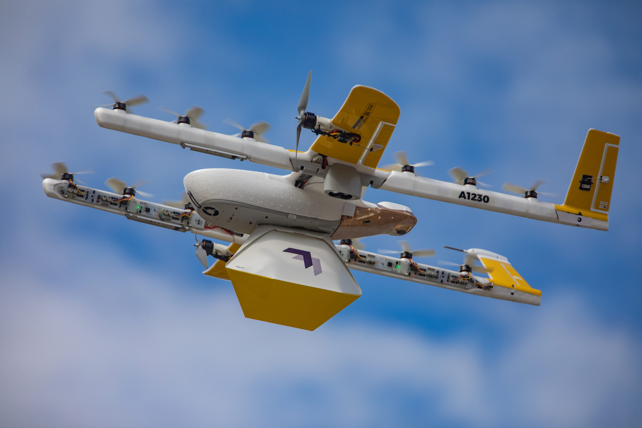 Google Wing drone