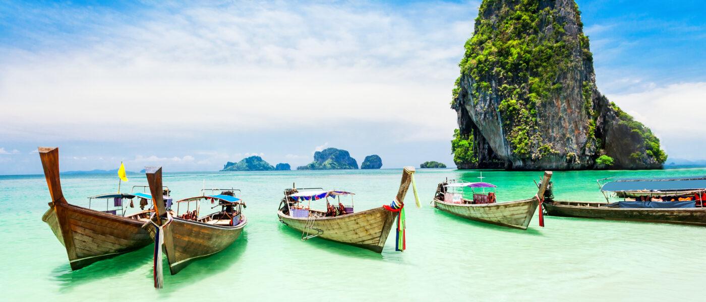 Longtale boat, Thailand