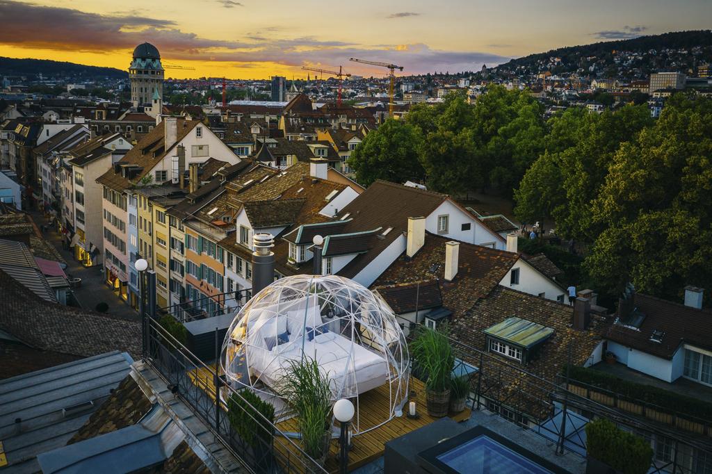 Bubble Suite in der Altstadt, Zurich