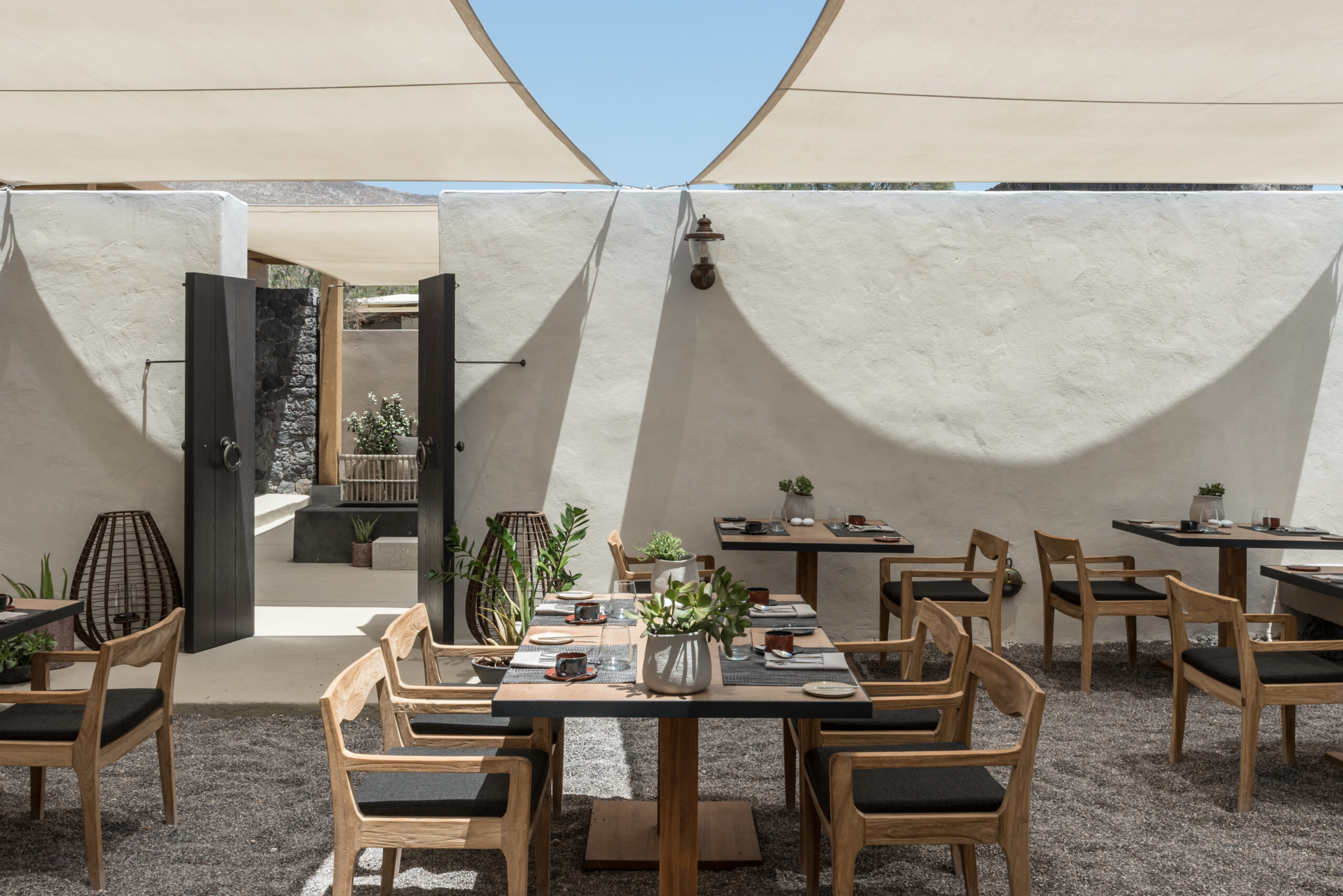 Mr. E Restaurant Istorial hotel Santorini Greece Santorini Greek food Noma travel Mediterranean
