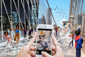 Reimagining Brooklyn Bridge: Do Look Down