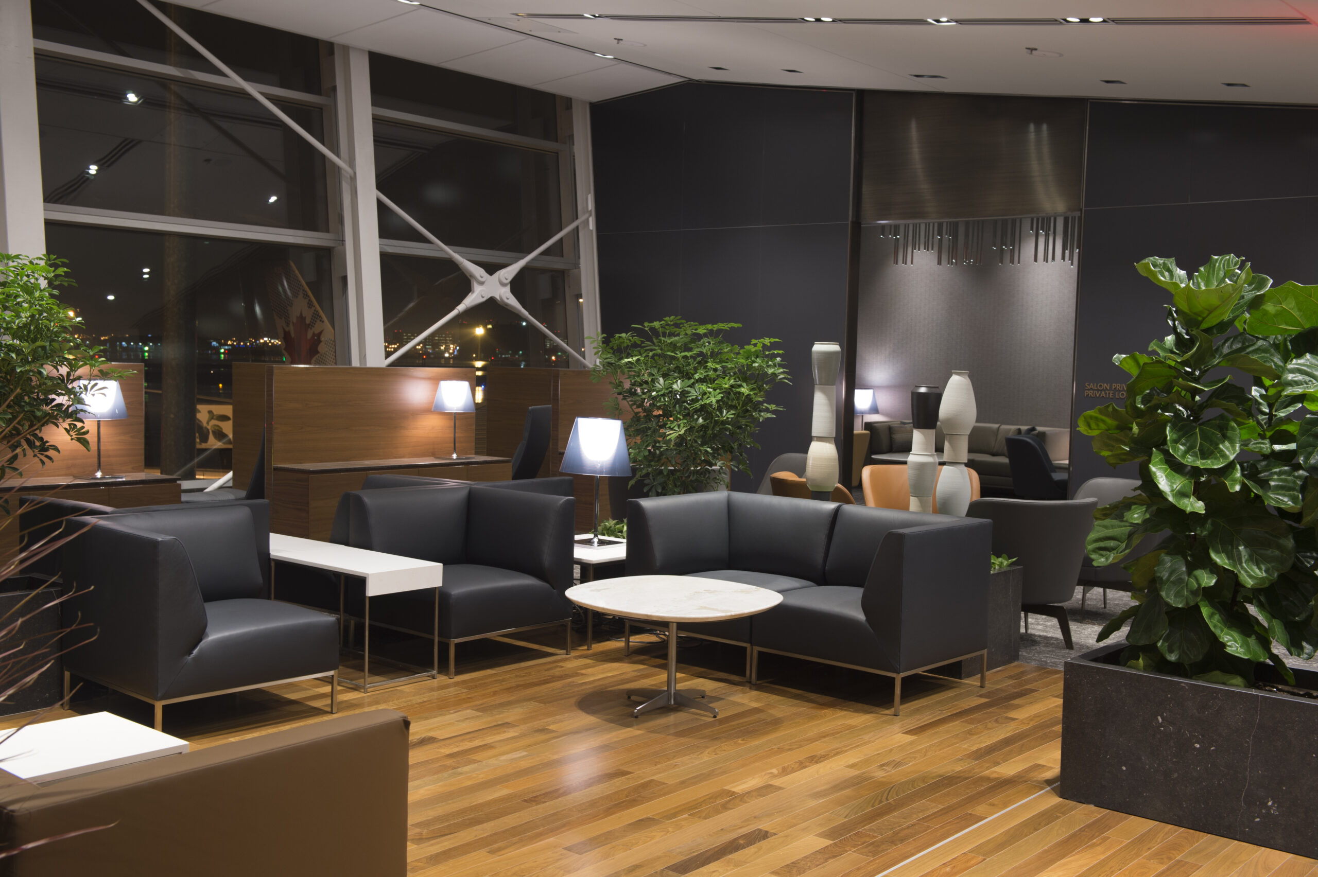 Air Canada Montreal lounge
