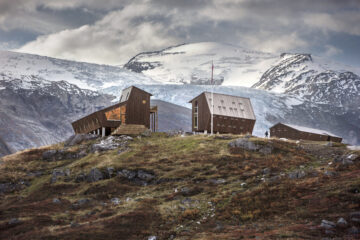 Snohetta tourist cabin Norway